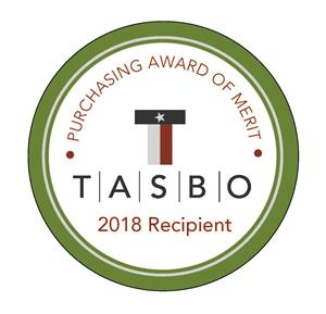 2018 tasbo award of merit logo