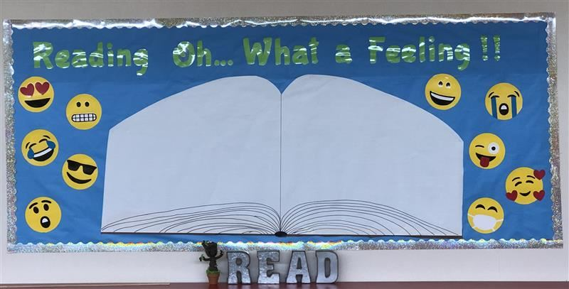 This year's bulletin board