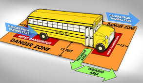 school bus danger zone
