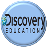 Button links to Discovery education video collection.