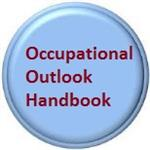 Button links to Occupational Outlook Handbook.