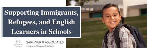 Supporting Immigrants, Refugees, and English Learners in Schools Log: Boy smiling