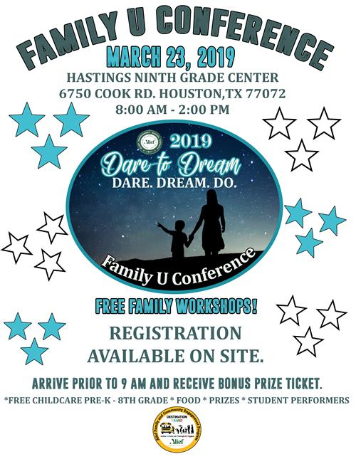 Family U Conference Flyer