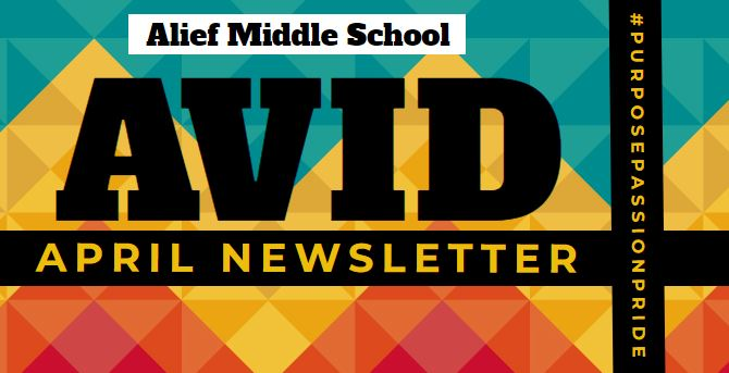 April AVID Newsletter