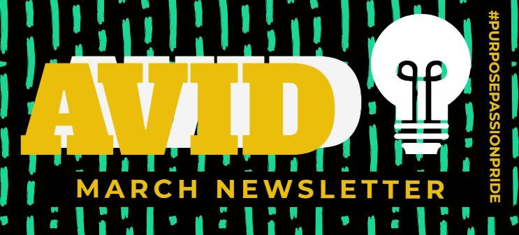 MARCH AVID Newsletter