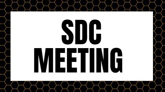 SDC Meeting (5/22/2019)