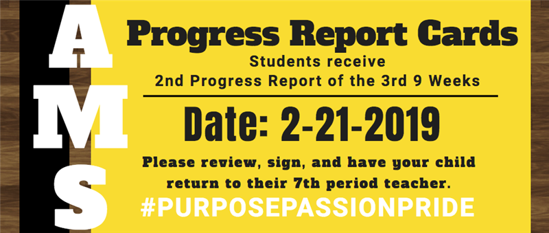 Progress Report Card Notification