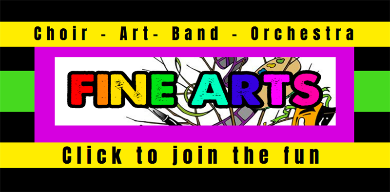 Join Band, Orchestra, Choir and more...