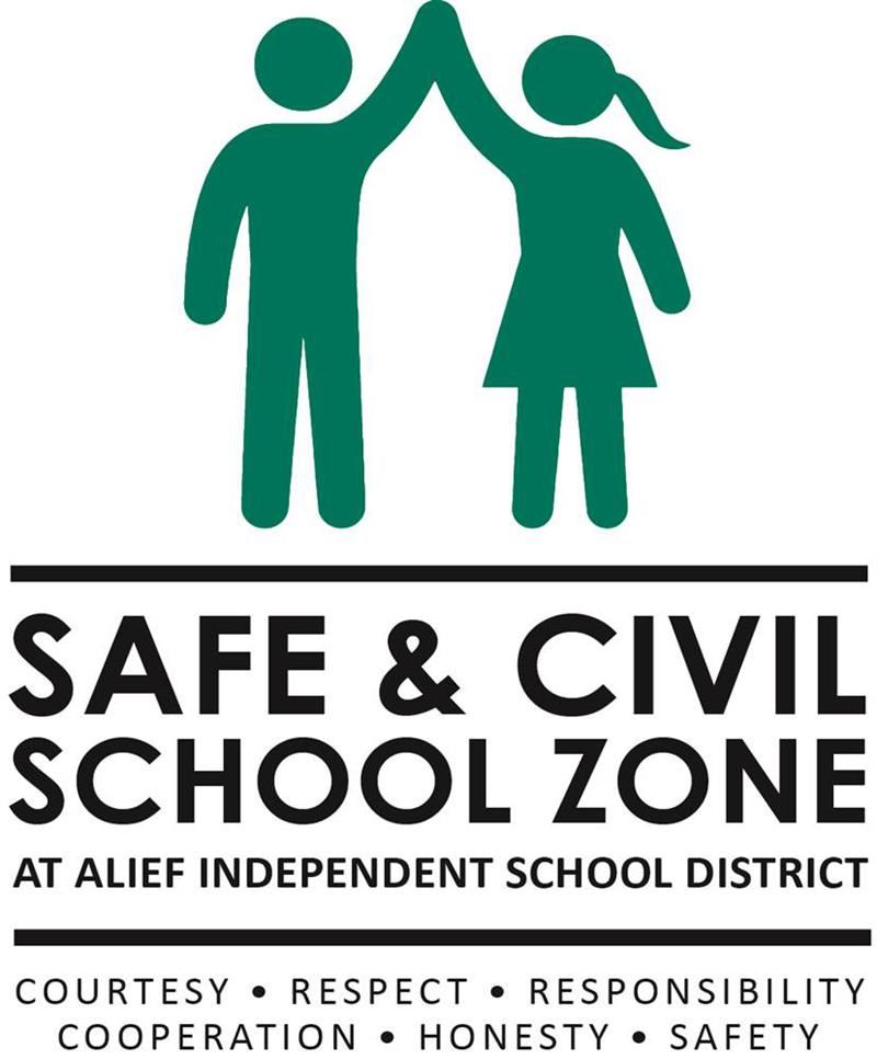 Safe and Civil School Zone - Courtesy, Respect, Responsibility, Cooperation, Honesty, Safety