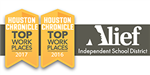 Alief ISD named one of Houston's Top Workplaces by the Houston Chronicle for 2017.