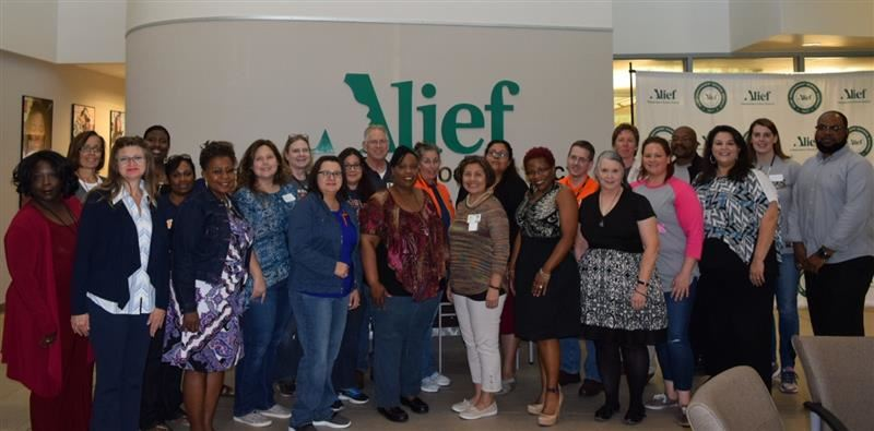 Photo of Alief ISD Education Improvement Council members