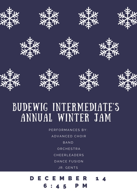 PERFORMANCES BY: ADVANCED CHOIR, BAND ORCHESTRA, CHERLEADERS, DANCE FUSION, JR. GENTS