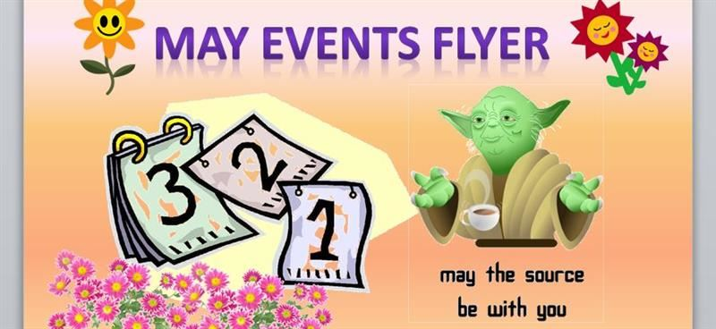 May Events at Bush Elementary Flyer