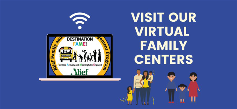 Visit Alief ISD's Virtual Family Centers
