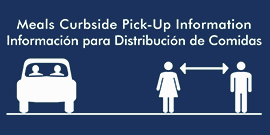 Breakfast and Lunch Curbside Pick-Up Information