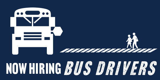 Help students succeed by becoming a school bus driver! graphic