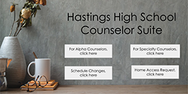 Hastings HS Counselor Suite