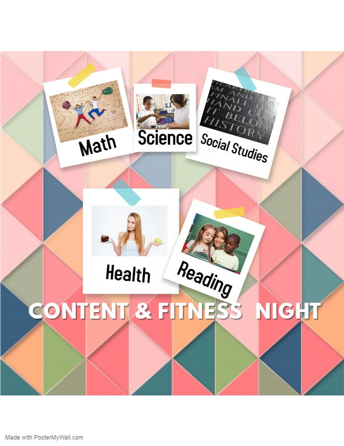 CONTENT & FITNESS NIGHT  NOVEMBER 14TH