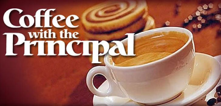 Coffee with the Principals August 28th @ 8:30