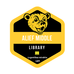 Alief Middle Library logo