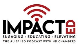 Impact Ed podcast logo