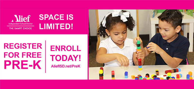 Space is Limited - Register for Free Pre-K