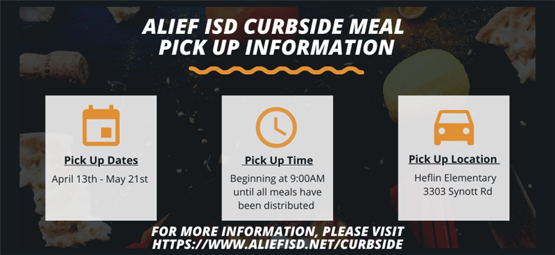 Alief ISD Curbside Meals