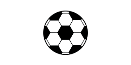 Graphic of a soccer ball