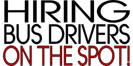 Hiring Bus Drivers on the Spot