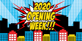2020 Family Center Opening Week