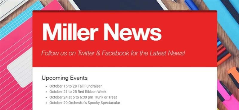 Check Out the Latest Edition of Miller News