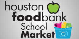 Houston Food Bank Logo with School Market Logo