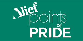 Alief Points of Pride Logo