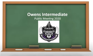 Public Meetings Owen
