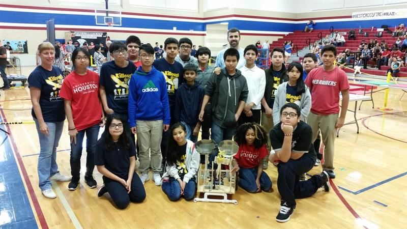Among all High School opponents, Killough STEM/ASF placed 6th and was earned the Rookie of the Year Award.