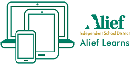 Alief Learns Logo