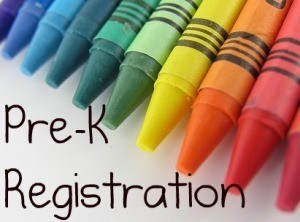 Pre-K Registration - Thursday, May 2 - 8:30 AM - 11:00 AM