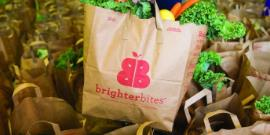 Brighter Bites bag with fresh produce