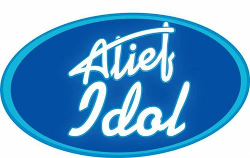 Graphic with text Alief Idol