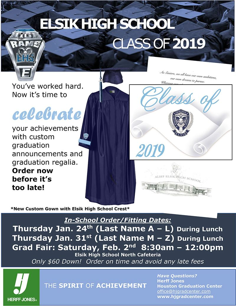 Class of 2019 Announcement picture