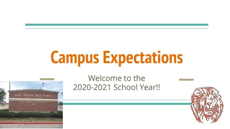 Campus Expectations 2020-2021