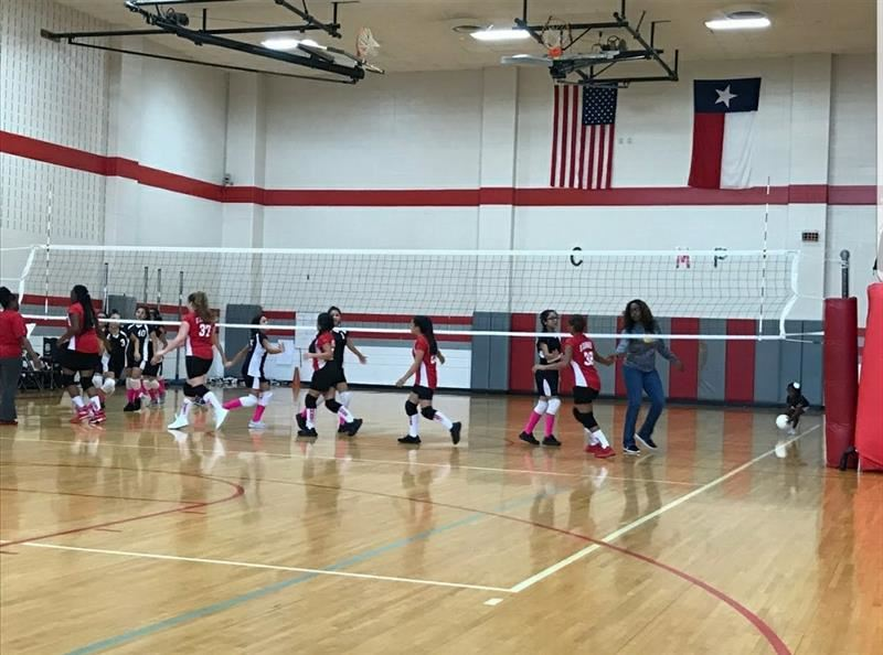 7A & 7B GIRLS VOLLEYBALL