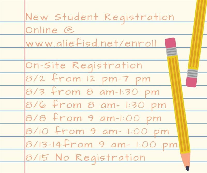 Need to register? See attachment for information needed.