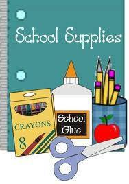 5th and 6th Grade School Supplies Lists