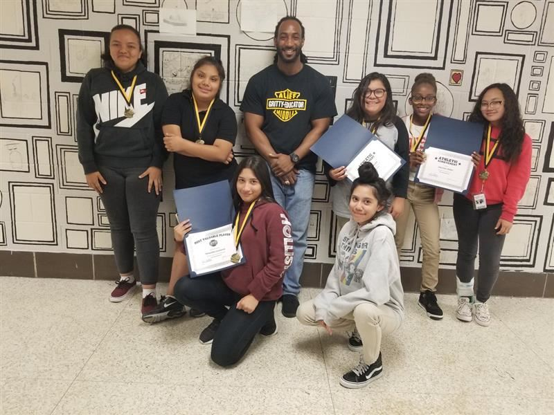 Alief Middle School scholars