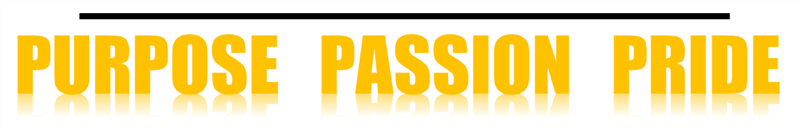 Purpose Passion Pride Banner