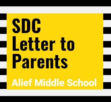 AMS SDC Letter to Parents