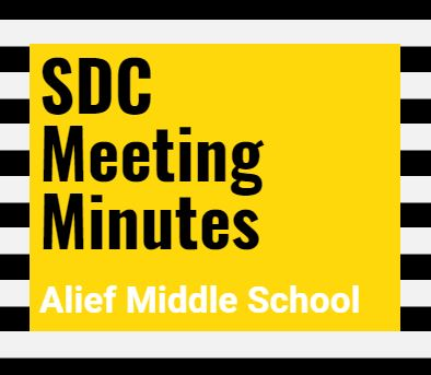AMS SDC Meeting Minutes