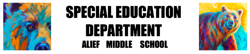 AMS Special Education banner