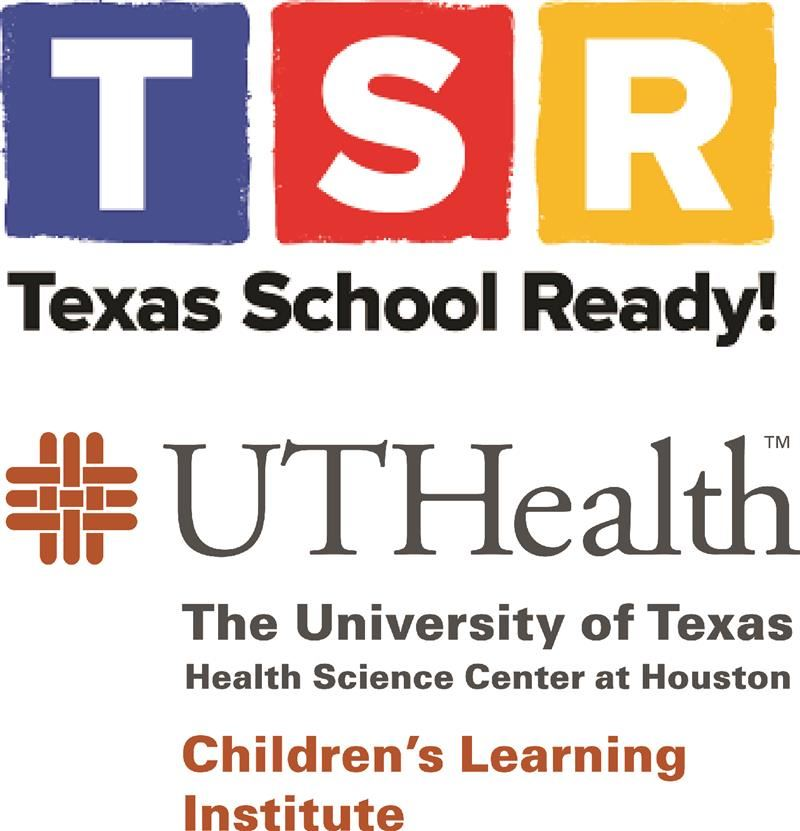 Texas School Ready and UT Health Children's Learning Institute logos